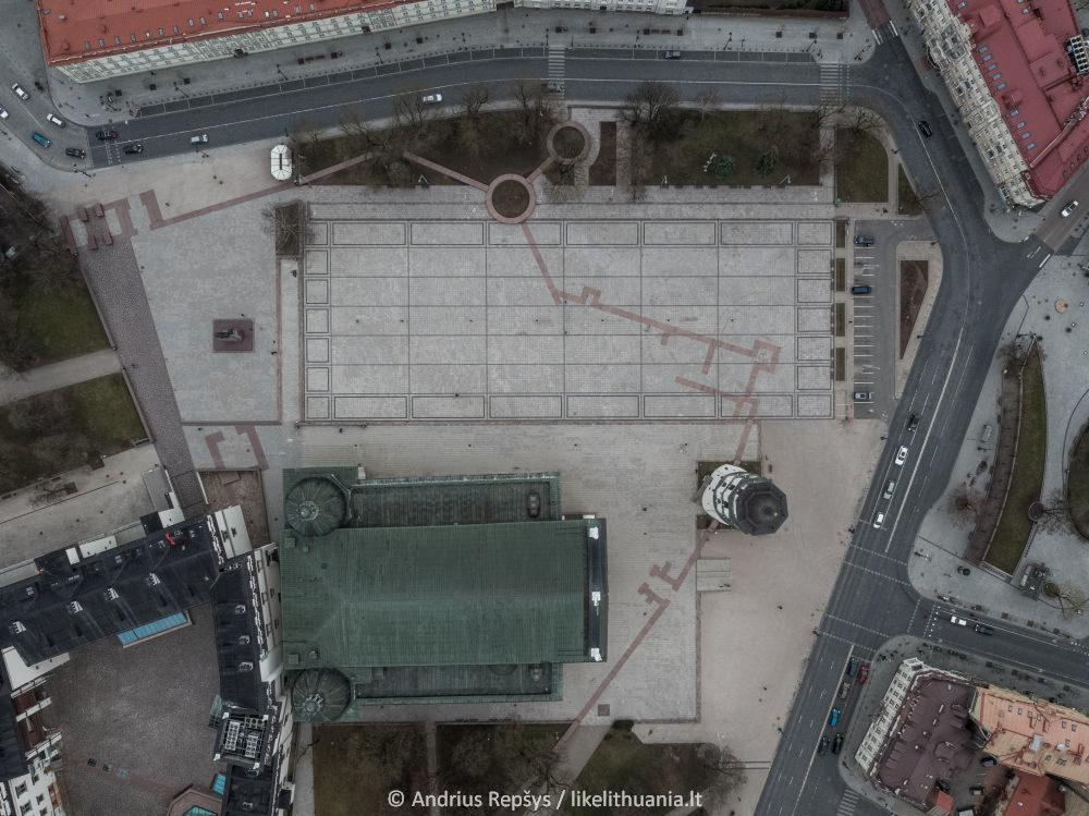 Vilnius. Diena pirma. Limituotas leidimas! 30x40 cm giclée spauda.